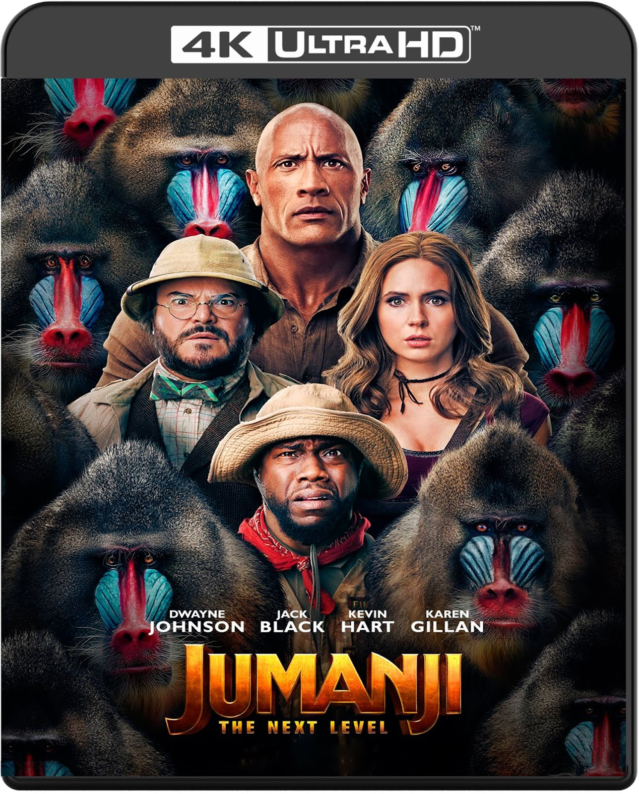 Jumanji: The Next Level [2019] [UHD] [2160p] [Latino]