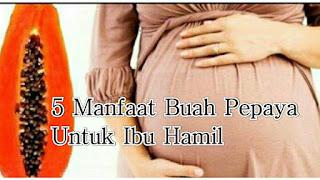 anfaat buah pepaya untuk ibu hamil