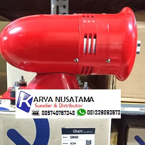 Supplier Qlight SM400 24V Industri Motor Siren di Purwokerto