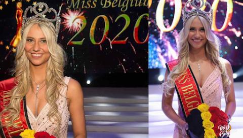 Céline Van Ouytsel es Miss Belgium 2020