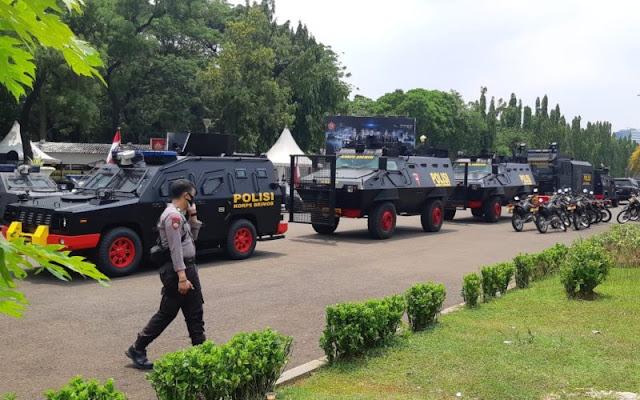 Ada Demo Buruh, 2.000 Personel Polisi Disiagakan di Depan Istana
