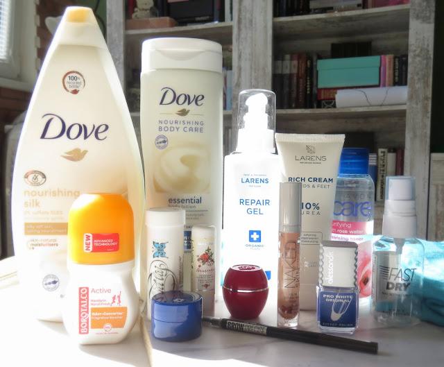 Saveonbeautyblog spotrebovana kozmetika marec 2021