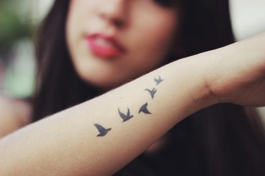 Tatuagem De Pássaros Garotas Como Você
