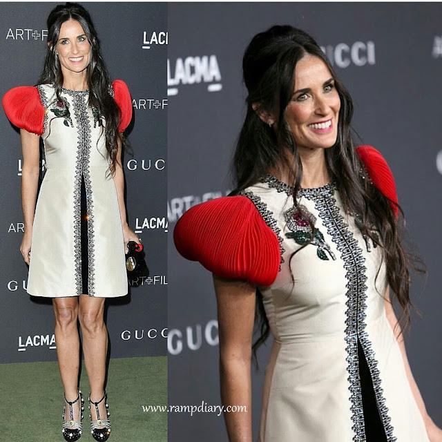 Demi Moore In Gucci
