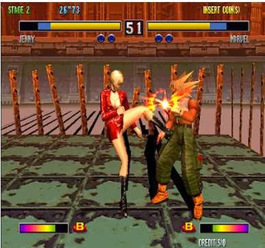 Gameplay Bloody Roar 2 iSO