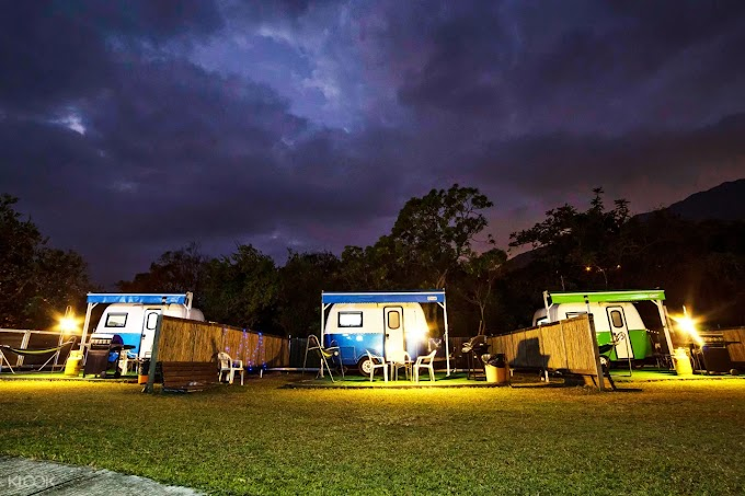 大嶼山長沙浪高長岸豪華露營/ 露營車+水上活動體驗