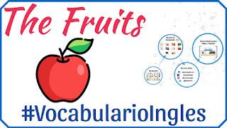 Vocabulario de las frutas en inglés con imágenes