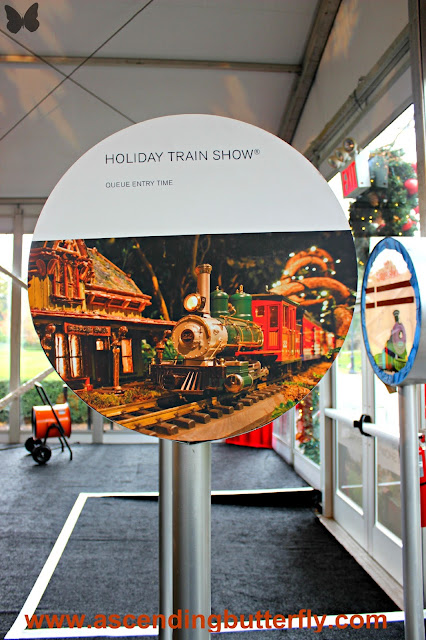 @NYBG New York Botanical Garden Holiday Train Show 2017 #HTSnybg, event signage