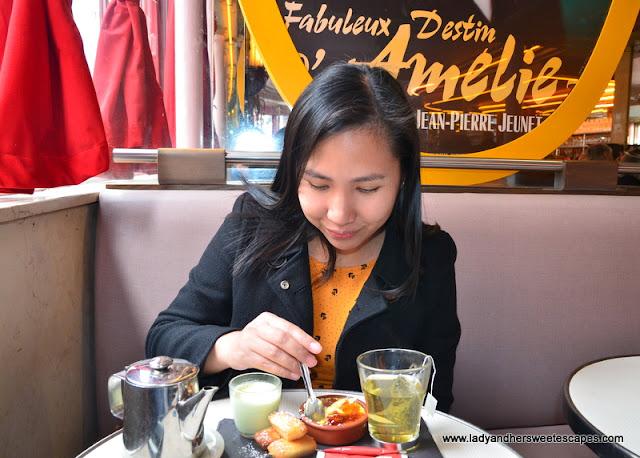 Amelie Cafe des Deux Moulins