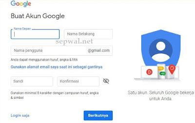 Cara Membuat Email Gmail Tanpa Nomor Hp dan Email Pemulihan