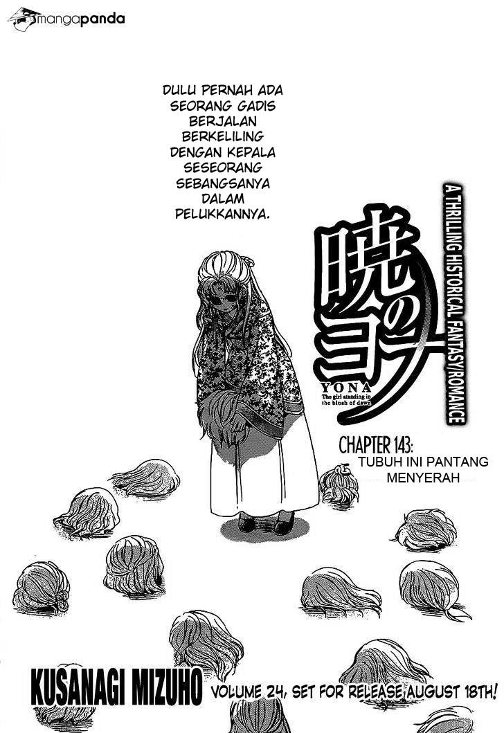 Dilarang COPAS - situs resmi www.mangacanblog.com - Komik akatsuki no yona 143 - chapter 143 144 Indonesia akatsuki no yona 143 - chapter 143 Terbaru  Baca Manga Komik Indonesia Mangacan