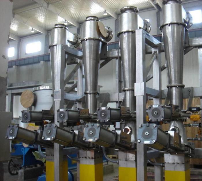 Equipo de purificación de pulpa de papel del proceso de fabricación de papel mediante reciclado