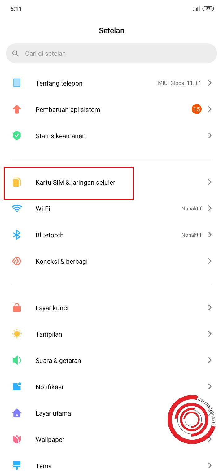 Cara Mengatur Jaringan Internet Menggunakan Sim 1 Atau Sim 2 Kepoindonesia
