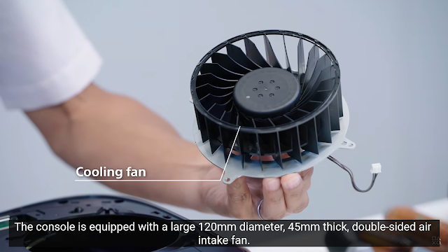 Double-sided-air-intake-120mm-fan-in-PS5