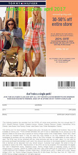 Tommy Hilfiger coupons for april 2017