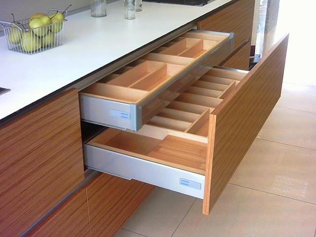 Cajones y sistemas extrables que hacen ms cmoda la cocina  Cocinas con estilo