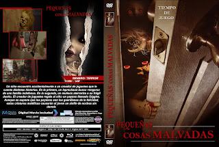 CARATULA PEQUEÑAS COSAS MALVADAS 2019[COVER DVD]
