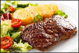 buncis, gizi, kentang, manfaat sayuran, steak, wortel, jagung, daging, lemak, protein