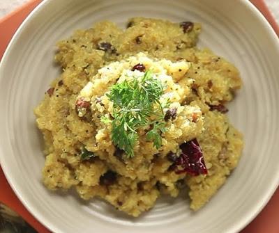 Quinoa lemon rice recipe