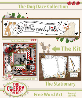 Free Scrapbooking Goodies Every Friday With The Cherry On Top