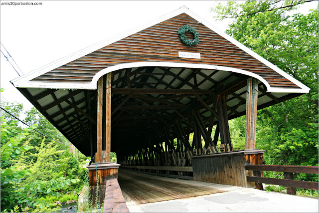 Rowell's Covered Bridge en Hopkinton, New Hampshire