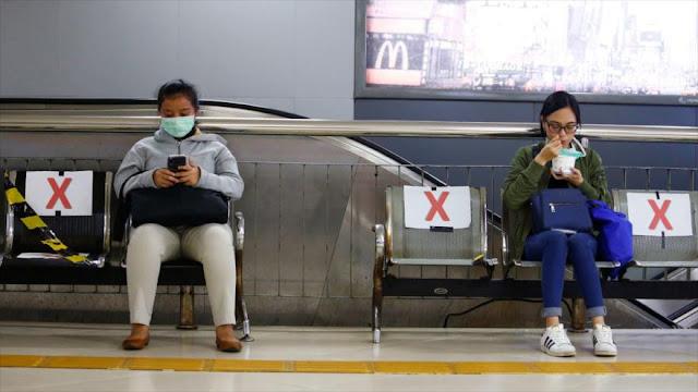 Las gotitas respiratorias pueden viajar más de dos metros