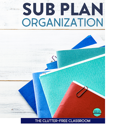 I feel less stressed about taking a sick day after reading these ideas. This awesome blog post made writing sub plans seem easy thanks to all their tips. I got so many ideas about storage and how to write them. Check out the blog post yourself before your next sick day! #sickday #subplans #substituteteacher