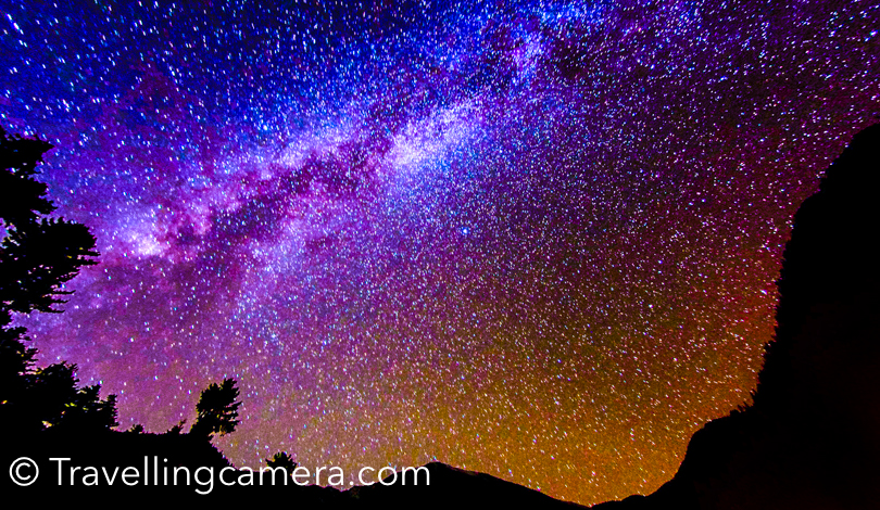 During the night, you can see millions of stars in the sky. I can go there any number of times. There is also a HPPWD guest house in Kullu-Sarahan which you can book.