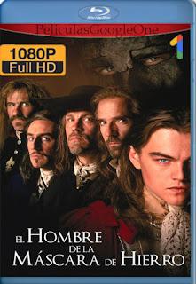 El Hombre De La Mascara De Hierro (1998) [1080p BRrip] [Latino-Inglés] [GoogleDrive]