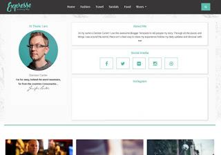 Expresso Free Premium Responsive Blogger Template.
