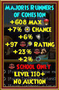 Wizard101 Level 120+ Time Warden Mirage Gear Drops