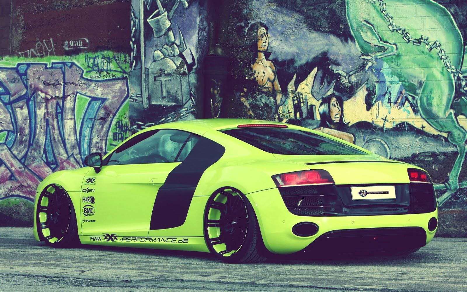 Fondos De Pantalla Coches: Imagenes Y Wallpapers: Fondo De Pantalla Coche Audi Tunning