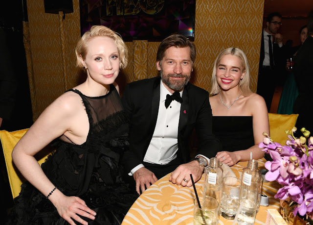 75th Golden Globes 2018 Afterparty in HD Pictures (Black Dress to Party)