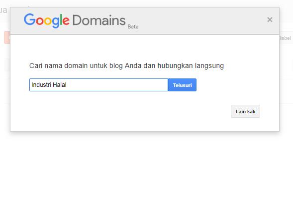 Domain Google Ini mah