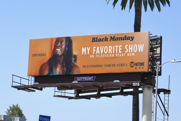 Black Monday season 2 Emmy FYC billboard