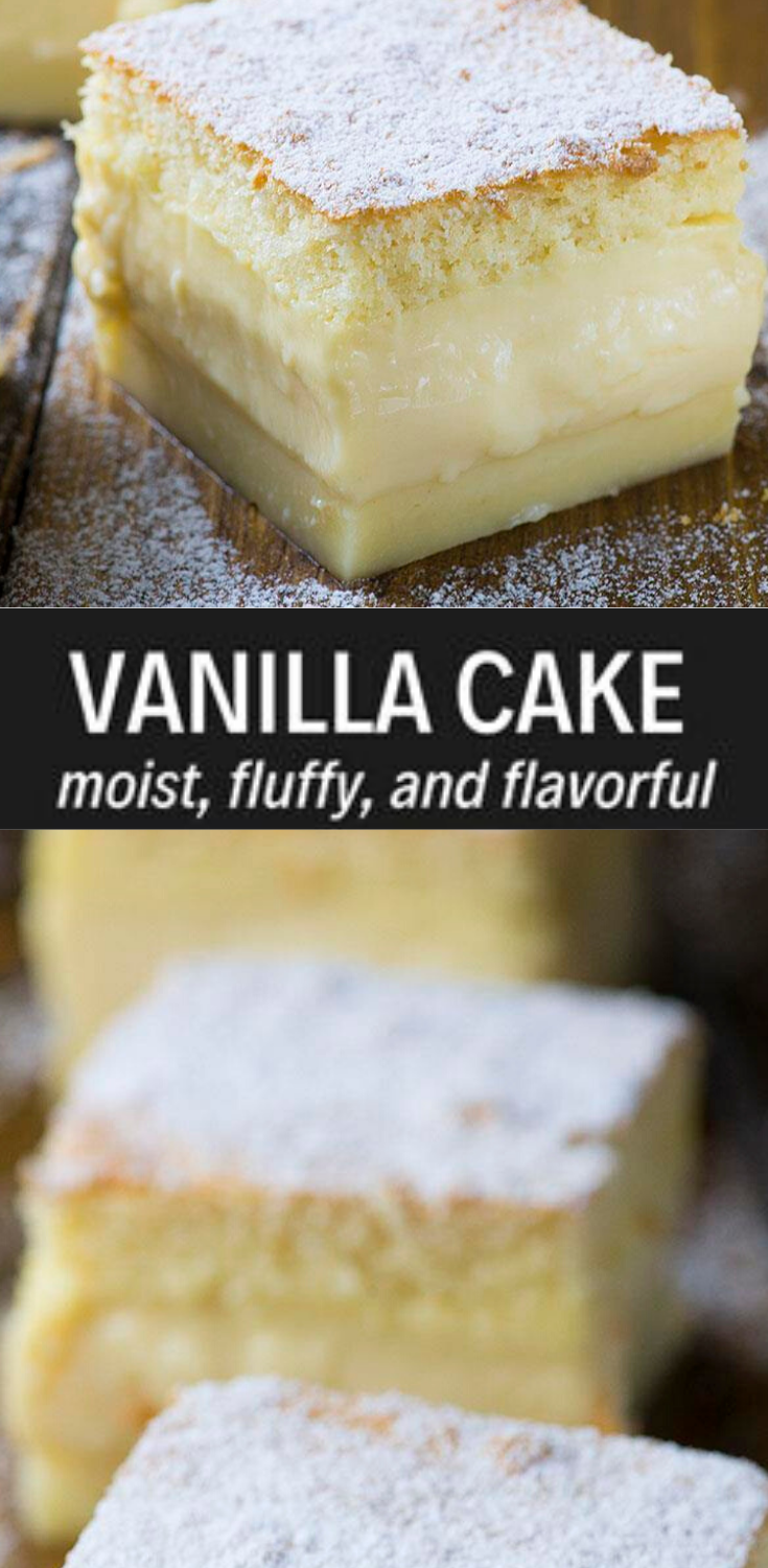 easy vanilla cake from scratch