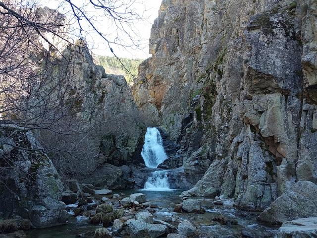Cascadas del Purgatorio cerca de Rascafria