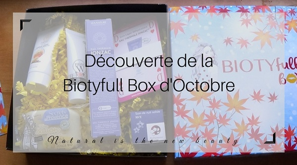 Biotyfull Box d'Octobre