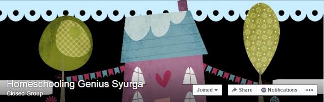 Senarai Blogger Dari Group Homeschooling Genius Syurga