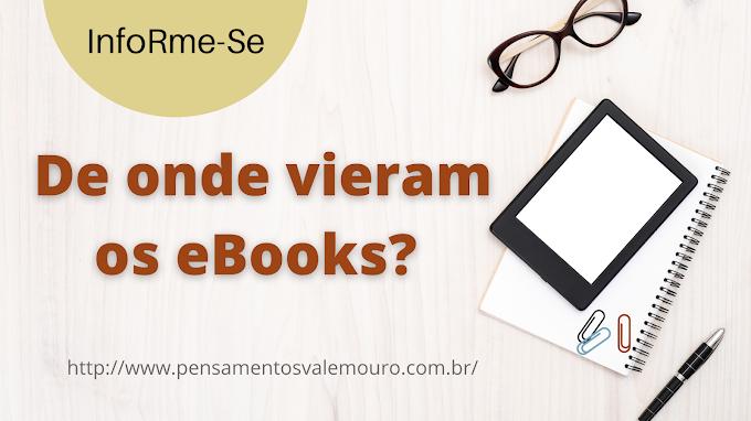 De onde vieram os eBooks?