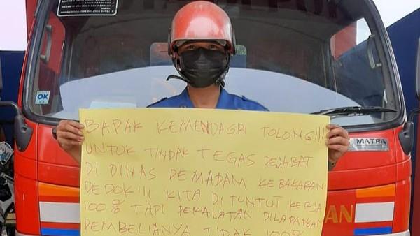 Aksi Petugas Damkar Bongkar Korupsi Direspons Permintaan Undur Diri