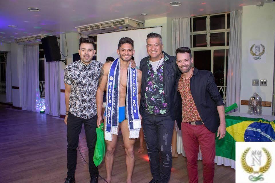Jonatas Reis foi o vencedor do Mister Model Nacional 2019. Foto: Ronaldo Gutierrez