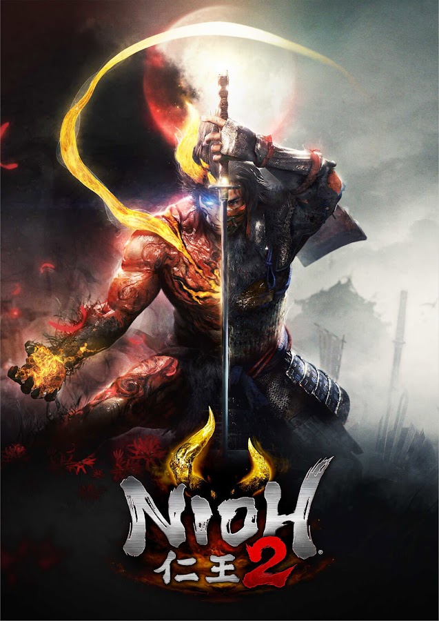 nioh 2 key art ps4 team ninja koei tecmo games sony interactive entertainment