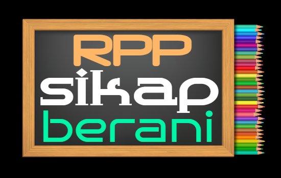 RPP PAI Kelas 2 Semester 2 Tahun 2020/2021, Materi Sikap Berani
