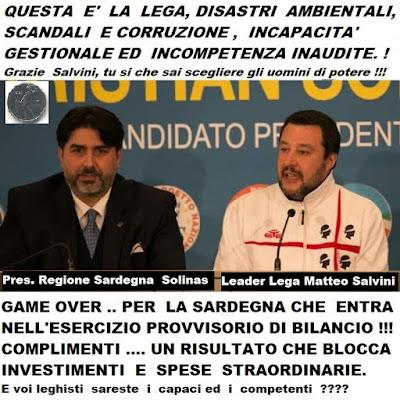 La Regione Sardegna  Entrerà nell'Esercizio Provvisorio per il 2020
