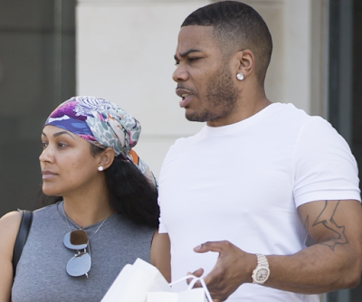 Despite the rape accusations, Nelly and are still going strong (photos)