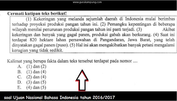 Kegiatan Belajar dan Mengajar Bahasa Indonesia, Rabu, 27 Januari 2021 (Kelas XII IPA dan IPS )
