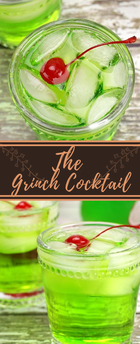 The Grinch Cocktail  #healthydrink #easyrecipe #cocktail #smoothie