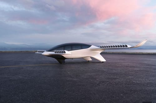 Lilium launches a new electric plane