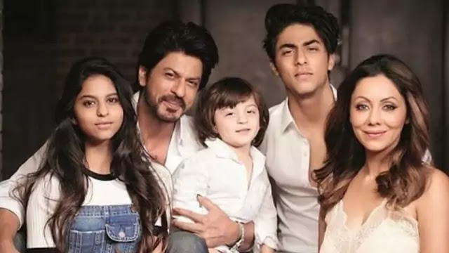 Shah Rukh Khan Family Photo